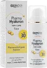 Парфумерія, косметика Крем для обличчя SPF 30 - Pharma Hyaluron Sun Care Face Cream SPF 30