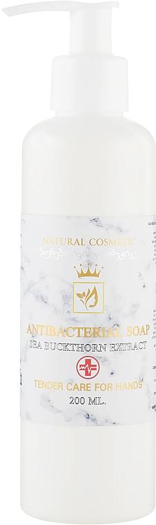 """Натуральное антибактериальное жидкое мыло """"Экстракт облепихи"""" - Enjoy & Joy Enjoy Eco Antibacterial Soap"""