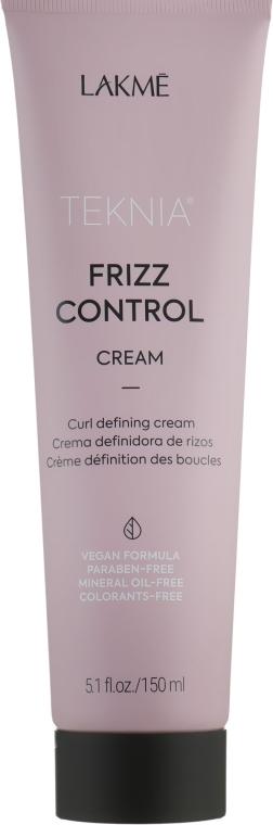 Крем для волос, подчеркивающий кудри - Lakme Teknia Frizz Control Cream