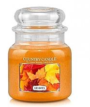 Парфумерія, косметика Ароматична свічка - Country Candle Leaves