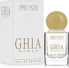 Парфумерія, косметика Carlo Bossi Ghia Woman - Парфумована вода (міні)