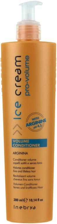 Кондиционер для тонких волос - Inebrya Ice Cream Pro-Volume Conditioner