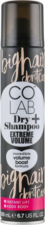 Сухой шампунь для волос с ароматом бергамота и мускуса - Colab Extreme Volume Dry Shampoo