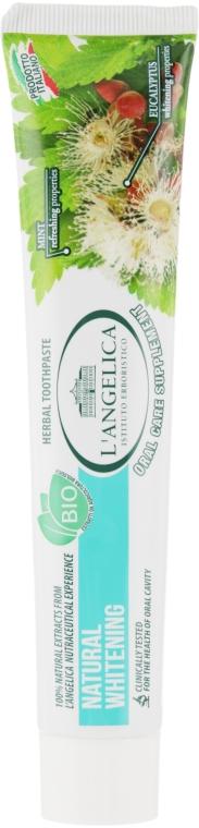 """Зубная паста """"Естественное отбеливание"""" - L'Angelica"""