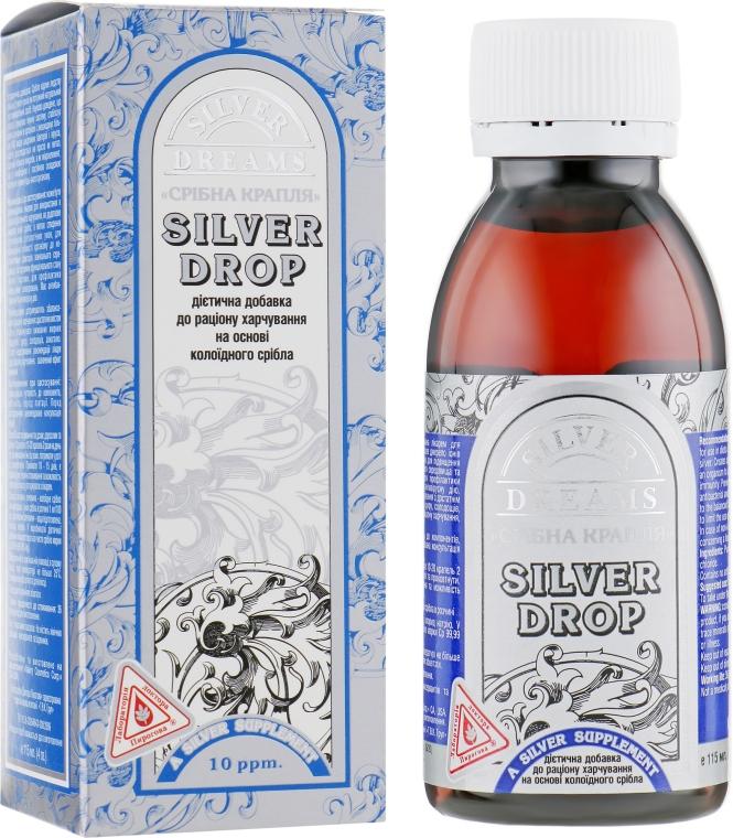 """Диетическая добавка """"Серебряная капля"""" - Dr.Pirogov Silver drop"""