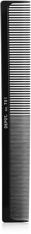 Гребень для волос - Depot Carbon Comb 701