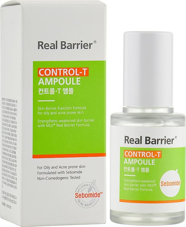 Real Barrier Control-T Ampoule - Легкая сыворотка для жирной и комби кожи:  купить по лучшей цене в Украине   Makeup.ua