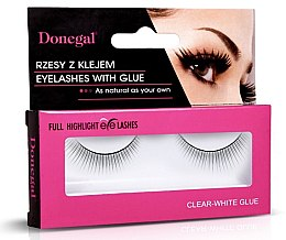 Духи, Парфюмерия, косметика Накладные ресницы, 4455 - Donegal Full Highlight Eye Lashes