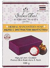 Духи, Парфюмерия, косметика Мыло с экстрактом мангустина - Sabai Thai Herbal Mangosteen Soap