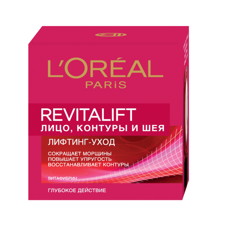 Крем для контура лица и шеи - L'Oreal Paris Revitalift Face Contours and Neck Re-Support Cream