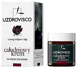 Духи, Парфюмерия, косметика Крем для глаз день/ночь - Uzdrovisco Black Tulip i Algi Eye cream