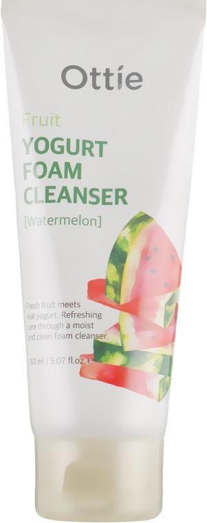 Пенка для лица фруктовая йогуртовая - Ottie Fruits Yogurt Foam Cleanser Watermelon