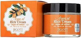 Духи, Парфюмерия, косметика Насыщенный крем для лица с аргановым маслом - Jigott Argan Oil Rich Cream