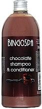 Духи, Парфюмерия, косметика Шоколадный шампунь-кондиционер - BingoSpa Chocolate Shampoo-Conditioner