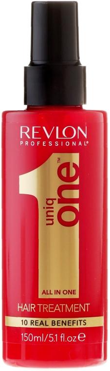 Набор - Revlon Professional Uniq One Uniqone Duo Pack (spray/150ml + sham/condit/300ml) — фото N4