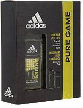 Духи, Парфюмерия, косметика Adidas Pure Game - Набор (deo/75ml +sh/gel/250ml)