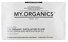 Духи, Парфюмерия, косметика Набор - My.Organics Exfoliating Elixir (Elixir/12x6ml + shampoo/100ml)