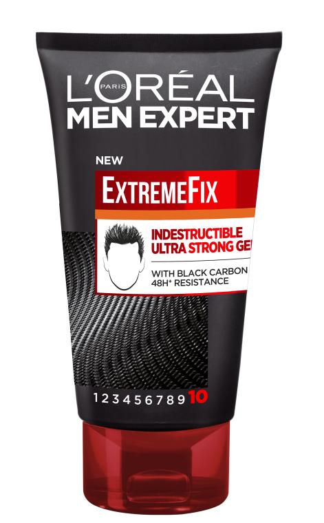 Гель сильной фиксации для укладки волос - L'Oreal Paris Men Expert ExtremeFix