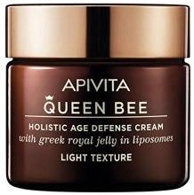 Духи, Парфюмерия, косметика Крем с легкой текстурой для комплексной защиты от старения - Apivita Queen Bee Holistic Age Defence Cream Light Texture