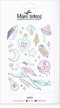 Духи, Парфюмерия, косметика Дизайнерские переводные тату - Miami Tattoos Witch