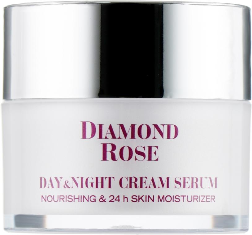 """Питательный крем-сыворотка """"День+Ночь"""" для сухой кожи - Diamond Rose Day and Night Cream Serum"""
