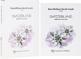 Духи, Парфюмерия, косметика Тканевая маска «Швейцария» - Calluna Medica Switzerland Lifting Biocellulose Facial Mask