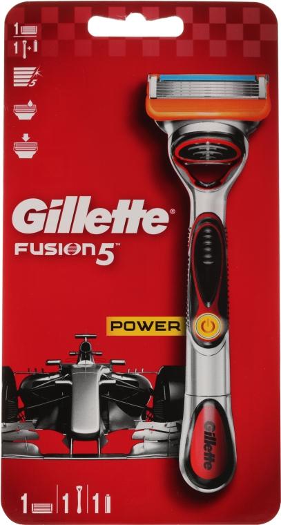 Бритва с 1 сменной кассетой - Gillette Fusion5 ProGlide Power