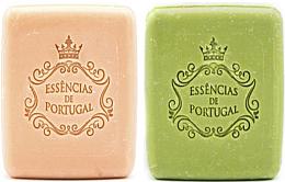 Духи, Парфюмерия, косметика Подарочный набор - Essencias de Portugal Christmas Gift 1 (soap/2x80g)