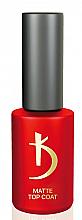 """Духи, Парфюмерия, косметика Верхнее матовое покрытие """"Велюр"""" - Kodi Professional Matte Top Coat Velour"""