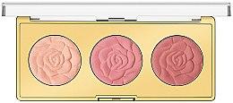 Духи, Парфюмерия, косметика Палетка румян - Milani Powder Blush Rose Blush Palette