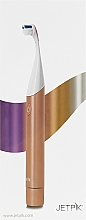 Парфумерія, косметика Електрична звукова зубна щітка, срібляста - Jetpik JP 300 Pink Silver