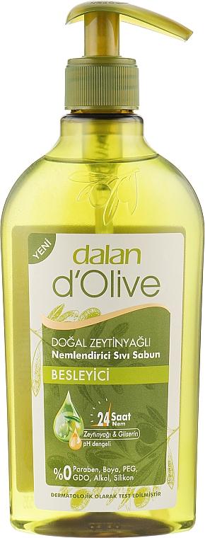 Жидкое оливковое мыло - Dalan D'Olive Savon Liquide