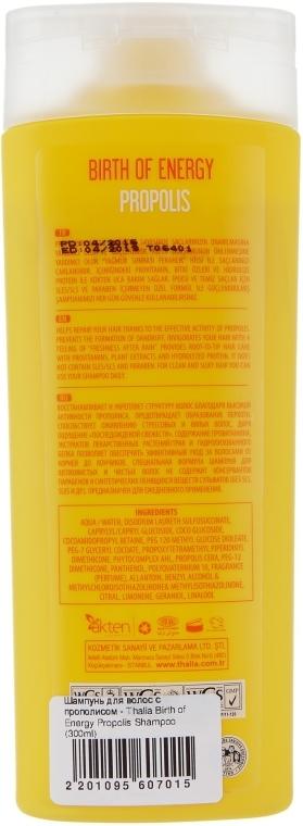 Шампунь з прополісом для волосся - Thalia Birth of Energy Propolis Shampoo — фото N2