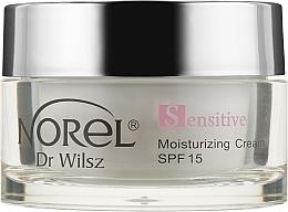 Духи, Парфюмерия, косметика Увлажняющий крем с SPF 15 для чувствительной кожи с куперозом - Norel Arnica Moisturising Cream