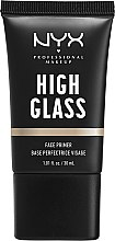 Духи, Парфюмерия, косметика Праймер для лица - NYX Professional Makeup High Glass Face Primer