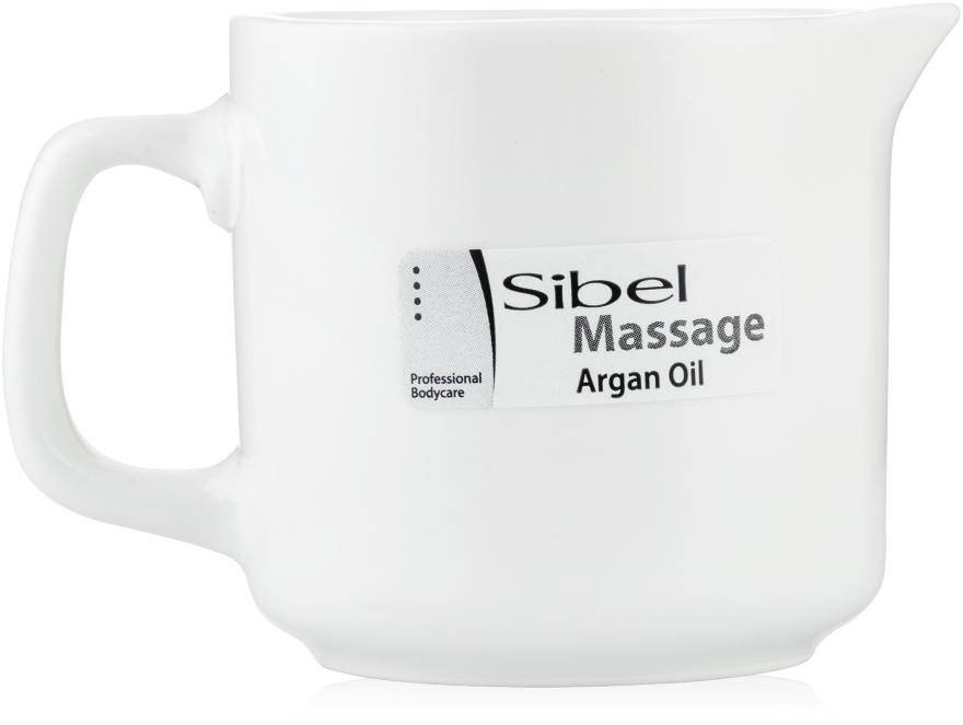"""Восстанавливающее массажное масло-свеча """"Аргановое масло"""" - Sibel Massage Candle"""