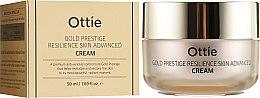 Духи, Парфюмерия, косметика Антивозрастной крем для упругости кожи лица - Ottie Gold Prestige Resilience Advanced Cream