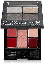 Духи, Парфюмерия, косметика Палетка для макияжа - Revlon Eyes Cheeks + Lips Palette