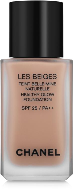 Тональный флюид - Chanel Les Beiges Healthy Glow Foundation SPF 25 PA++