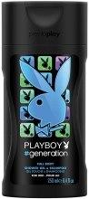 Духи, Парфюмерия, косметика Playboy Generation Shower Gel & Shampoo - Гель для душа