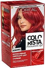 Духи, Парфюмерия, косметика Стойкая краска для волос - L'Oreal Paris Colorista Permanent Gel