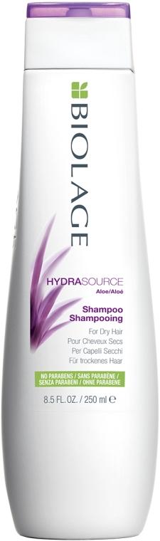 Шампунь для увлажнения сухих волос - Biolage Hydrasource Ultra Aloe Shampoo