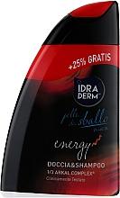 Духи, Парфюмерия, косметика Шампунь-гель для душа 2 в 1 - Idraderm Energy Shower Shampoo