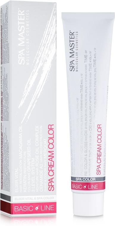 Крем-краска для волос - Spa Master Basic Line Hair Color
