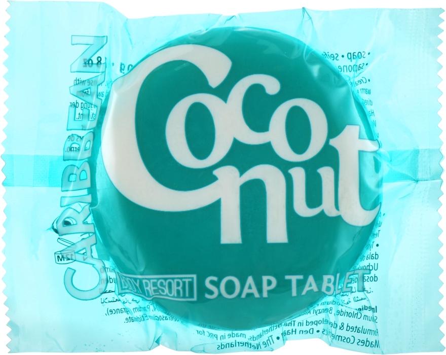 "Мыло ""Кокос"" - Mades Cosmetics Body Resort Caribbean Coconut Soap Tablet"