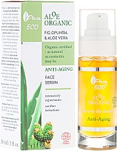 Духи, Парфюмерия, косметика Антивозрастная сыворотка для лица Опунция и Алоэ - Ava Laboratorium Aloe Organic Anti Aging Face Serum
