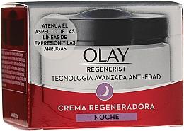 Духи, Парфюмерия, косметика Ночной крем - Olay Regenerist Regenerating Night Cream