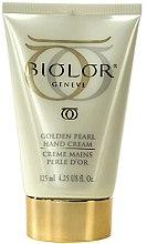 Духи, Парфюмерия, косметика Крем для рук - Biolor Golden Pearl Hand Cream