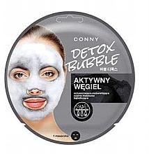 Духи, Парфюмерия, косметика Маска для лица с активным углем - Conny Detox Bubble Mask