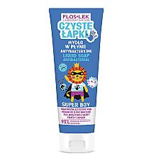 Духи, Парфюмерия, косметика Детское антибактериальное мыло для рук - Floslek Super Boy Antibacterial Hand Soap